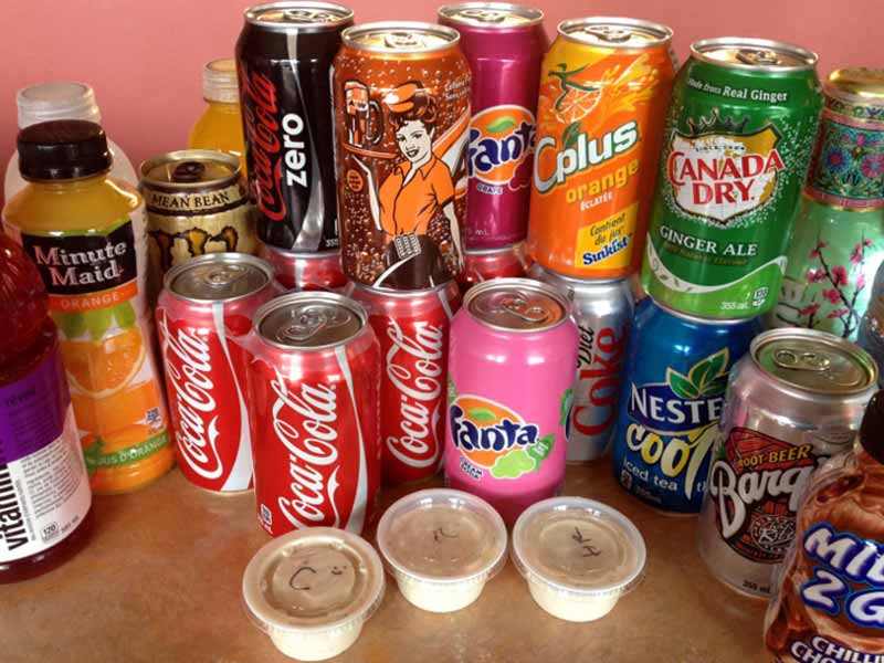 Cold Soft Drinks and other Beverages